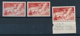 DK-211: FRANCE: Lot Avec PA N°19**(2)-19a**(papier Carton) - Poste Aérienne