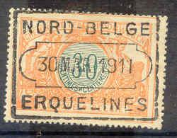 NB205A  TR32 Nord Belge ERQUELINES - Bahnwesen