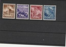 ALLEMAGNE N° 730/733**LUXE COTE Y&T 2011 = 20.00 EUROS - Unused Stamps