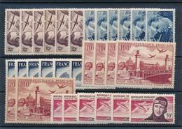 DK-217: FRANCE: Lot Avec Mini Stock PA** N°  21-22-23-28-34 (6 De Chaque) - 1927-1959 Neufs