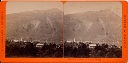 Suisse, F.Charnaux, Arth Et Le Rigi - Photos Stéréoscopiques