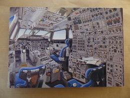 COCKPIT / POSTE DE PILOTAGE  /       CONCORDE   CARTE DOUBLE - 1946-....: Moderne