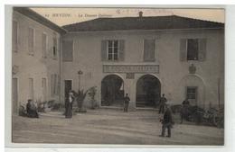 06 MENTON LA DOUANE ITALIENNE BOGANA ITALIANA + CACHET TRAIN SANITAIRE SEMI PERMANENT AUX DAMES DE FRANCE - Menton