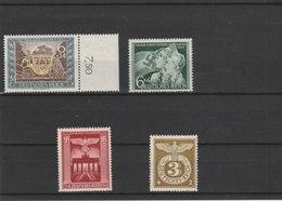 ALLEMAGNE N° 747.760.761.762**LUXE COTE Y&T 2011 = 6.25 EUROS - Unused Stamps
