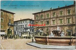 Saluti Da Pesaro - Plazza Vittorio Emanuele - 1923 - Pesaro