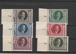 ALLEMAGNE N° 763/768**LUXE COTE Y&T 2011 = 15.00 EUROS - Unused Stamps
