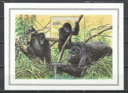 Rwanda 1985 Mi Block 103 MNH - MOUNTAIN GORILLA - Affen