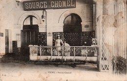CPA VICHY - SOURCE CHOMEL - Vichy