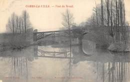 CPA 77 COMBS LA VILLE PONT DU BREUIL - Combs La Ville