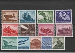 ALLEMAGNE N° 791/803**LUXE COTE Y&T 2011 = 22.50 EUROS - Allemagne