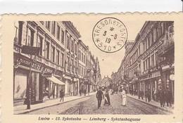 Cpa Old Pc Pologne Lwow Lemberg Lviv Sykstuska Postmark Trésor Et Postes - Polonia