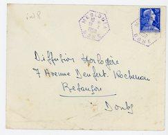 ALGERIE ENV 1958 MESLOULA BONE AGENCE POSTALE - Marcophilie (Lettres)