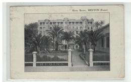 06 MENTON HOTEL REGINA - Menton