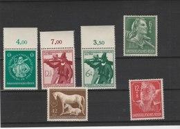 ALLEMAGNE N° 816.817/818.819/820.821.822/823**LUXE COTE Y&T 2011 = 7.50 EUROS - Unused Stamps