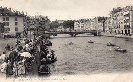 BAYONNE - Le Quai Des Halles - LL 27 - Vierge - Tbe - Bayonne