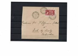 CTN61/C - LUXEMBOURG LETTRE DE FEVRIER 1928 (ENVELOPPE COURTE A GAUCHE) - Luxembourg