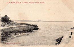 CIBOURE - Entrée Du Port Et Fort De Socoa - LJ 52 - écrite 1906 - Tbe - Ciboure
