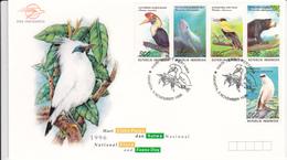 Selos  Temas 2 Fdc  Aves Indonesia - Pigeons & Columbiformes