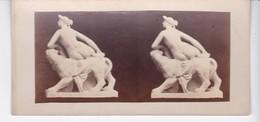 FRANKFURT(ALLEMAGNE) CARTE STEREO CARTONNEE(NUE) MUSEE BETHMANN - Fotos Estereoscópicas
