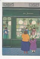 Berthine MARCEAU Librairie Des Femmes 68 Rue Des Saints-Pères Paris, Livres, Enfant, 1980 Environ - Autres Illustrateurs