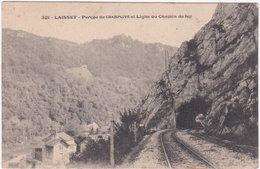 25. LAISSEY. Percée De Champlive Et Ligne Du Chemin De Fer. 321 - Autres Communes