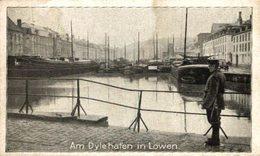 TRES RARE   AM DYLEHAFEN LOWEN  1914/15  WWI WWICOLLECTION - Leuven