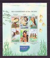 MICRONESIE  1997  : LEGENDES DES MERS YVERT N°452/57 NEUF MNH** - Contes, Fables & Légendes