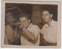 GIOSTRA LUNA PARK TIRO A SEGNO SHOOTING STAND TIR A LA CARABINE - FOTO ORIGINALE - Personnes Anonymes