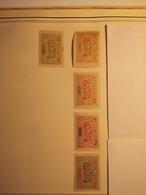 OBOCK. Yvert 55 - 56 - 57 - 58 - 59 * Neuf Avec Charnière - Obock (1892-1899)