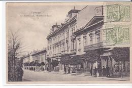 Cpa Old Pc Ukraine Pologne Tarnopol Ternopil Mickiewicza Judaica Stamp Postmark - Ukraine