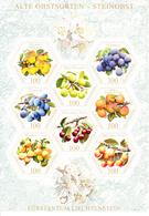 2017 Liechtenstein Fruits Trees Miniature Sheet Of 8 MNH @ BELOW FACE VALUE - Liechtenstein