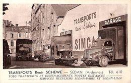Sedan Transport René Schewe  SIMCA Déménagements - Sedan