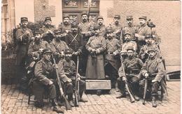 Carte Photo Militaire Escouade Du 26e RIT - 1914-18