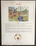 Belgique - FDC - Premier Jour - YT Bloc N° 75 - Sport - 1998 - 1991-00