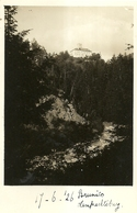 """7345 """" BRUNICO CASTEL LAMBERTO (LAMPRECHTSBURG)-16-6-1926 """"-FOTOCARTOLINA POSTALE ORIGINALE NON SPEDITA - Bolzano"""