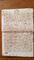GENERALITE  MONTPELLIER TESTAMENT LOUIS GAUZY DE BEZIERS MANUSCRIT 1771 AVEC CACHETS CIRE TROIS SOLS - Matasellos Generales