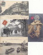 T.B.LOT DE 304 CPA+16 CPSM P.F. (320) UNIQUEMENT PARIS.AVEC DE T.B.CARTES.BEAUCOUP ANIMEES.VOIR DESC.ET SCANS. - 100 - 499 Cartes