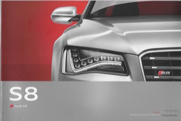Plaquette AUDI S8 - Auto