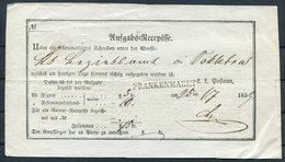 1859 Austria Post Office Document. Frankenmarkt - Lettres & Documents
