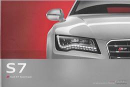 Plaquette AUDI S7 Sportback - Auto