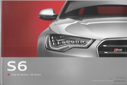 Plaquette AUDI S6 Berline/S6 Avant - Auto