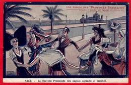 -- UNE RONDE Des PROVINCES FRANCAISE / SOUS LE SOLEIL DE NICE / LA NOUVELLE PROMENADE DES ANGLAIS AGRANDIE Et EMBELLIE-- - Other
