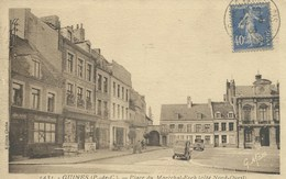 Guines - Place Du Maréchal Foch ( Côté Nord-Ouest ) - Guines