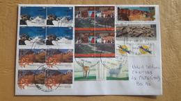Enveloppe Argentine En Circulation Avec Timbre Paysages Et Faune - Argentina