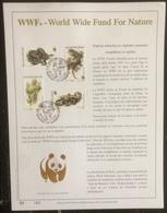 Belgique - FDC - Premier Jour - YT N° 2895 à 2898 - Fonda Mondial Pour La Nature - WWF - 2000 - FDC