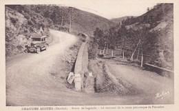 Cantal - Chaudes Aigues - Route De Laguiole - Le Tournant De La Route Pittoresque De Pierrefort - Altri Comuni