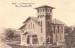 ALBI - Le Temple Protestant - Rue Fontvieille - Albi