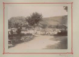 110420B - PHOTO ANCIENNE XIXème - 81 MURAT SUR VEBRE Route De St Gervais à Lacaune - France
