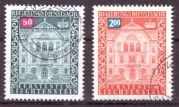Liechtenstein 1976 - Oblitéré - Bâtiments - Timbres De Service Michel Nr. 61 68 (lie979) - Servizio