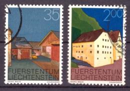 Liechtenstein 1978 - Oblitéré - Bâtiments - Michel Nr. 696 705 (lie961) - Liechtenstein